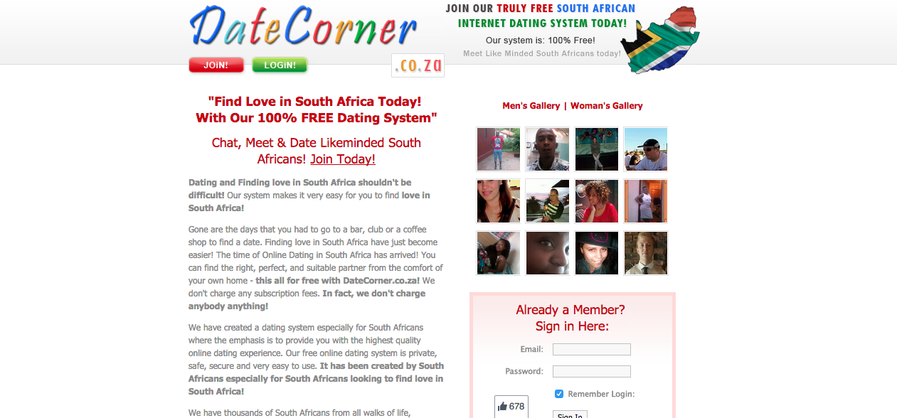 south african online dating websites