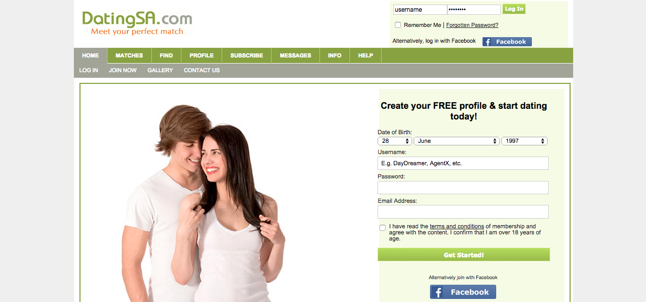 100 free online dating sites in south africa