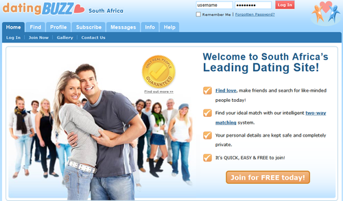Online dating in south africa