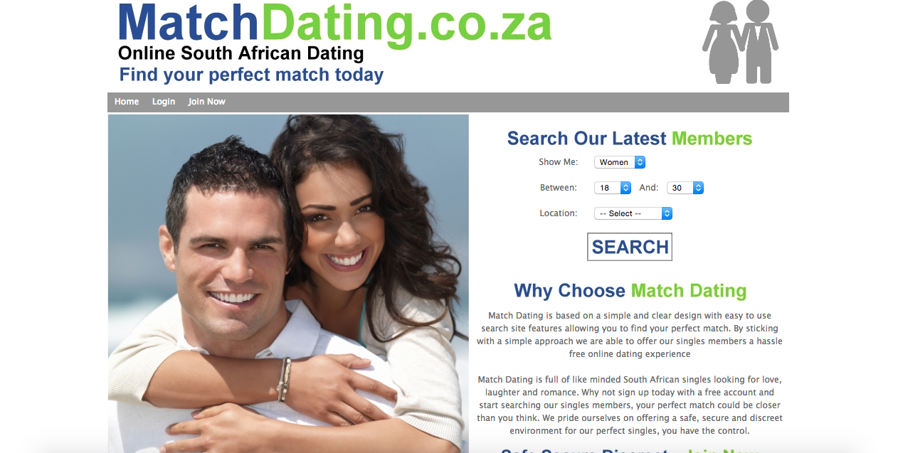 New dating site online now