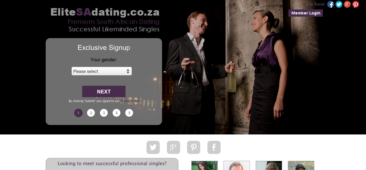 Sa online dating