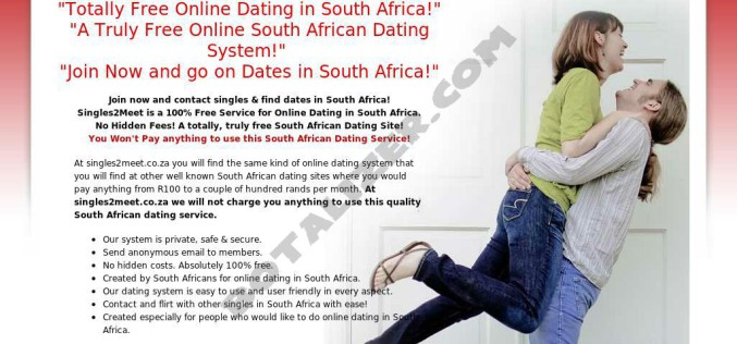 Online dating for professionals south africa